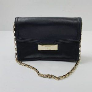 Kate Spade Black Leather Shoulder Bag